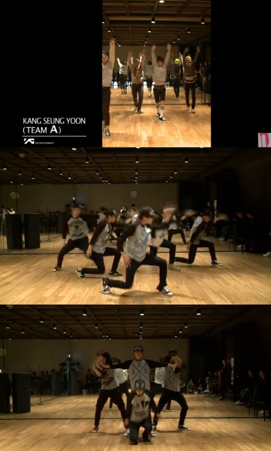 YG-보이그룹-강승윤-이승훈-절도-칼군무-소름영상포함