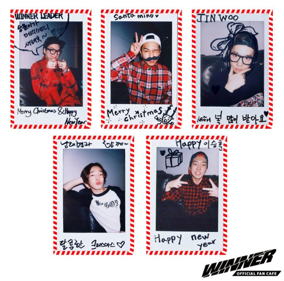 WINNER SAID MERRY CHRISTMAS 2013