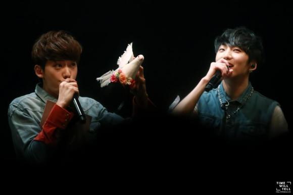140505 hello winner jinwoo and seungyoon round 2