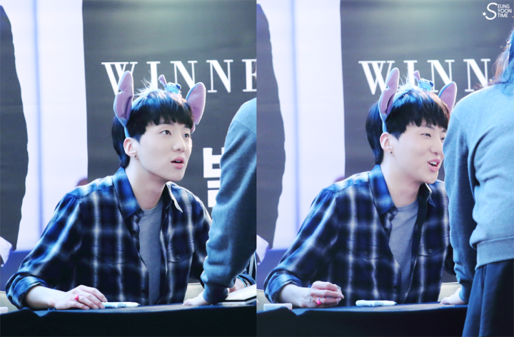 140917 Seungyoon at Yeouido Fansign Event 10