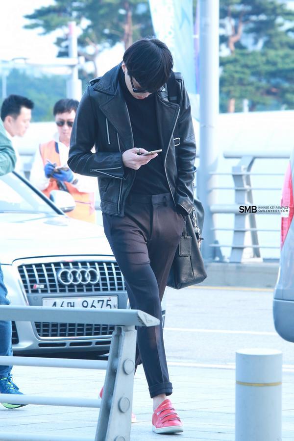 140927 Seungyoon at Incheon 1