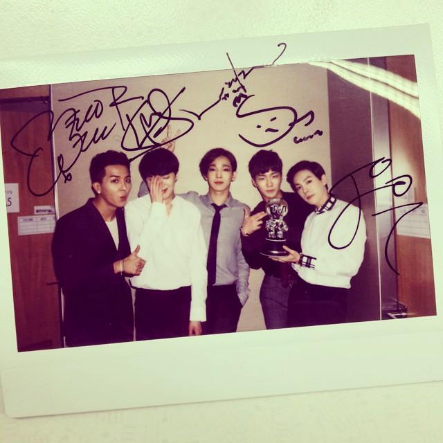 150427 mnet producer winner insta