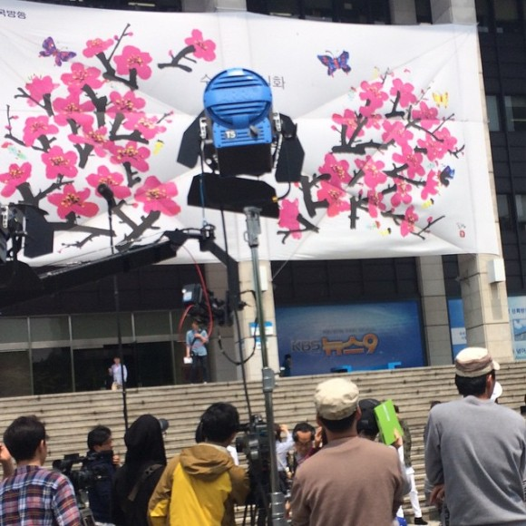 150514 producers filming insta1