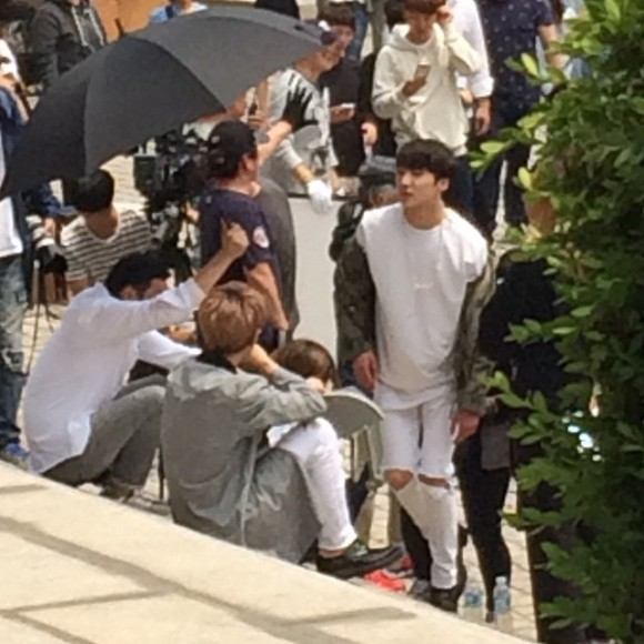 150514 producers filming insta6