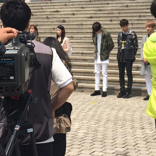150514 producers filming insta8