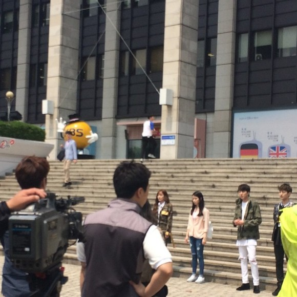150514 producers filming insta9