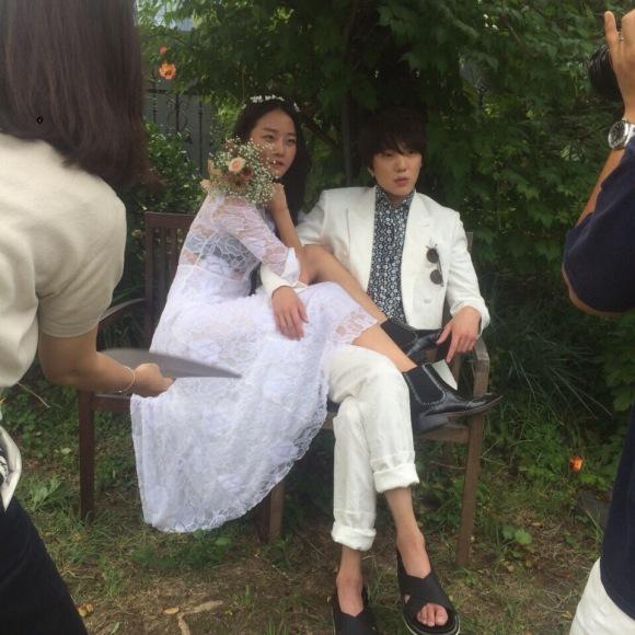 150723 hyoni wbu5 1stlook weibo