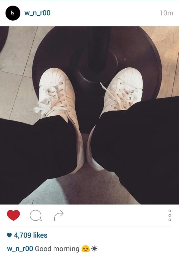 151130 w_n_r00 1 seungyoon white shoes cap