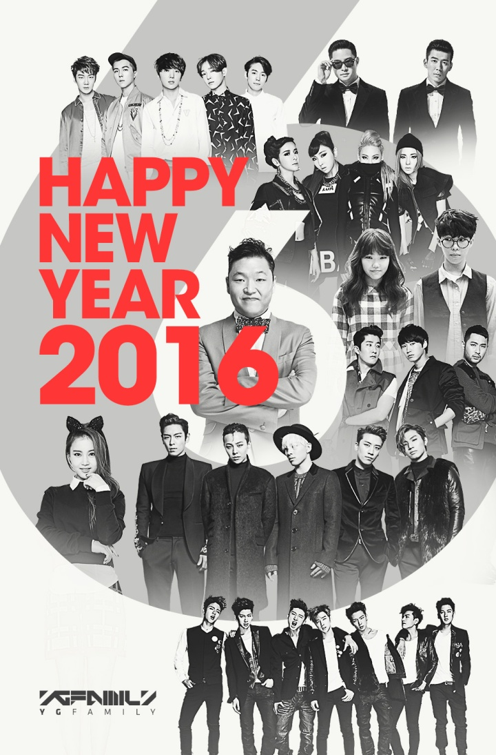 160101 YG FAMILY - HAPPY NEW YEAR 2016
