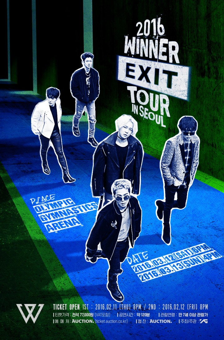 160203 WINNER - EXIT TOUR IN SEOUL