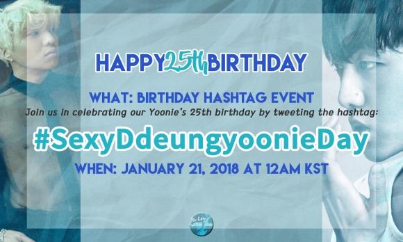 KSY25thBDAY_Hashtag SexyDdeungyoonieDay